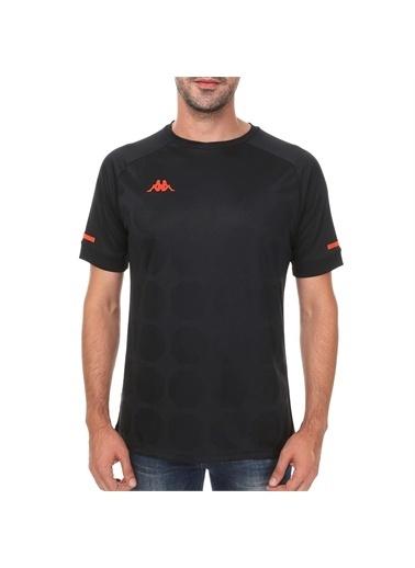 Kappa Poly T-Shirt Soto  Siyah